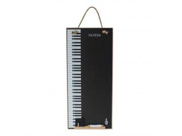 závěsná tabule klaviatura