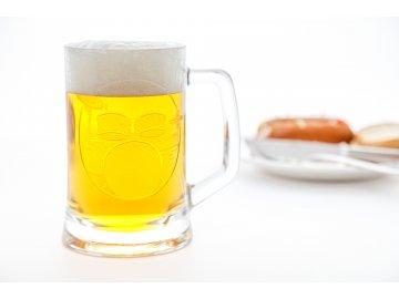 Pivní půllitr s uchem BICÍ SOUPRAVA
