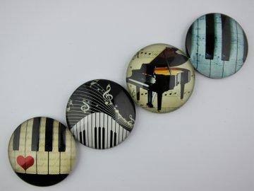 Magnet klaviatura, klavír (2)