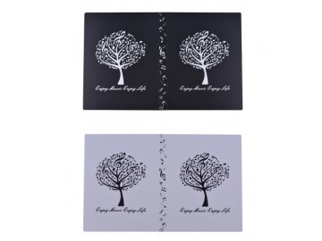 desky hudební strom
