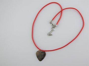 náhrdelník I love music