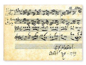 Pohlednice Händel