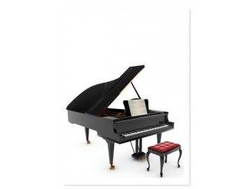 Pohlednice PIANO