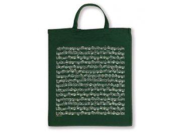 Taška partitura Bach krátká ucha zelená