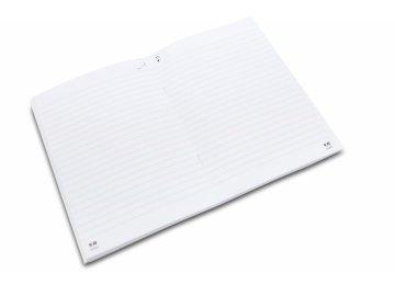 Sešit A5 linkovaný pampeliška s notami (2)