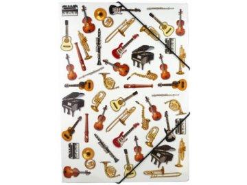 desky hudební nástroje