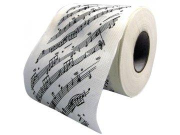 toaletní papír partitura