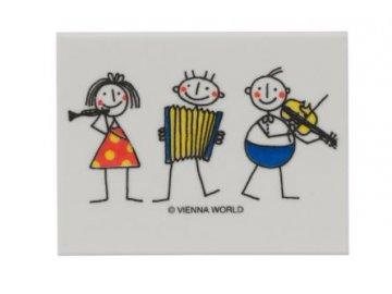 guma malý filharmonik, hudební gumy, gumy noty 1