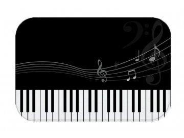 podložka do koupelny klaviatura