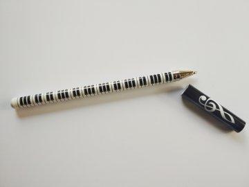 kuličkové pero s klaviaturou a houslovým klíčem (4)