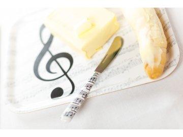 mazací nůž s notami