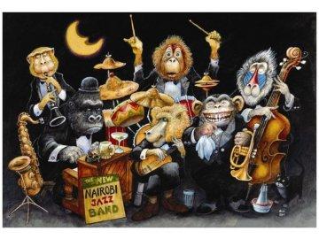 Puzzle jazzová kapela Nairobi