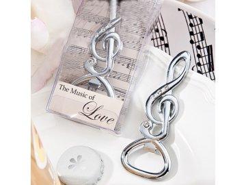 houslový klíč vykládaný kamínky otvírák na lahve
