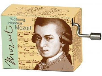 hrací skříňka W. A. Mozart