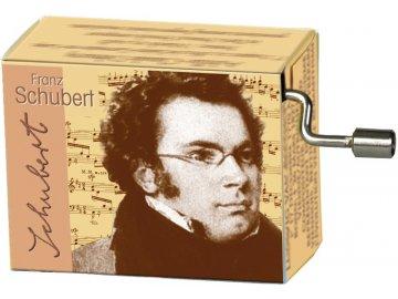 hrací skříňka F. Schubert