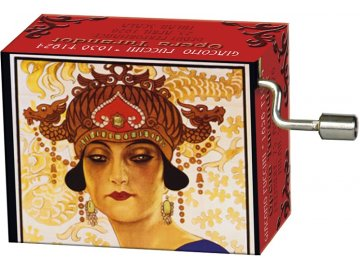 hrací skříňka Turandot