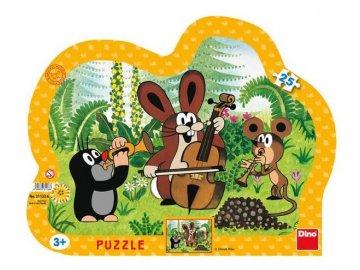 puzzle krtek muzikant