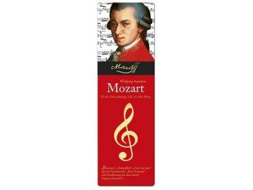 Záložka do knihy W.A. Mozart