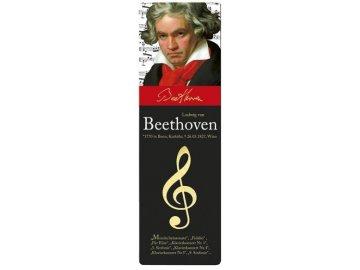 Záložka do knihy L. van Beethoven