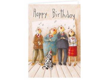 Přání do obálky píseň k narozeninám