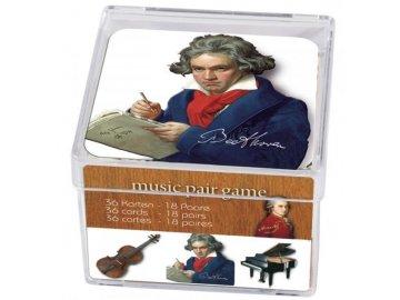 pexeso hudba, hudební skladatelé
