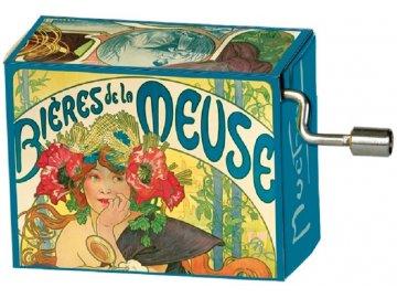 Hrací skříňka francouzský kankán