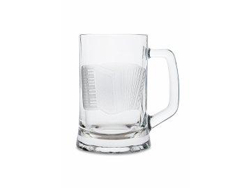 Pivní půllitr s uchem AKORDEON