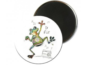Magnet žába tanečnice