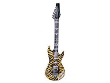 Nafukovací kytara tygrovaná