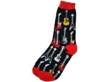 ponožky kytary dámské