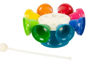 hudební zvonky barevné