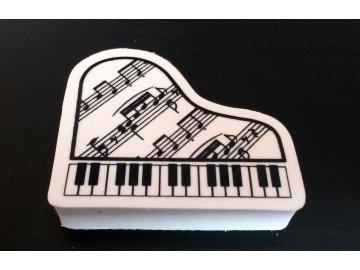 guma klavír s partiturou