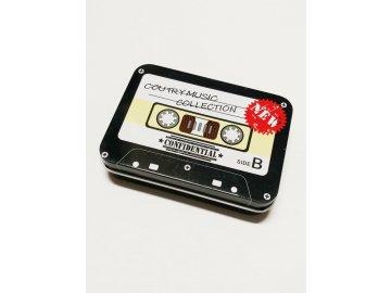Plechová krabička na drobnosti Audiokazeta (2)