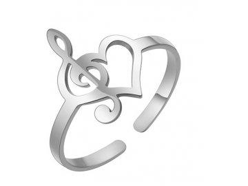 Prsten elektrická kytara s kazetou