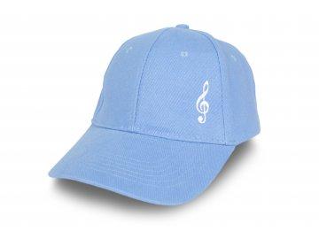 Kšiltovka HOUSLOVÝ KLÍČ modrá