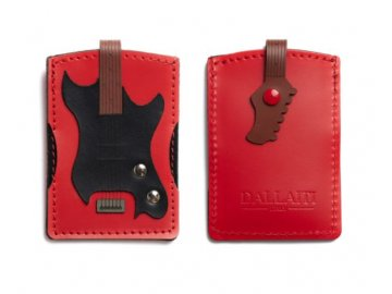 Pouzdro na karty basová kytara