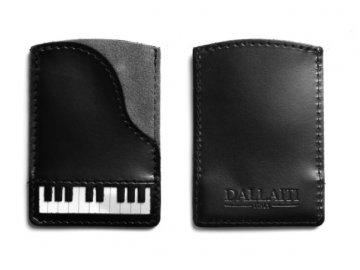 Pouzdro na karty piano, kůže