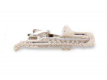 Spona na kravatu Saxofon (1)