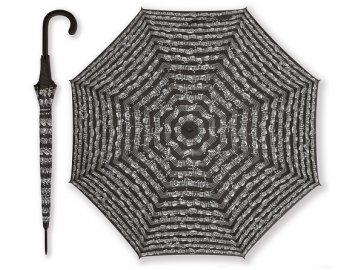 deštník partitura černý