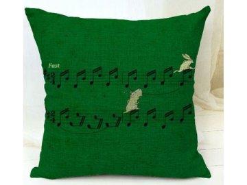 povlak partitura, nota, houslový klíč