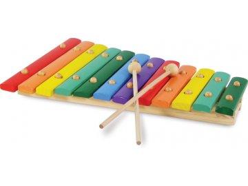 Barevný xylofón