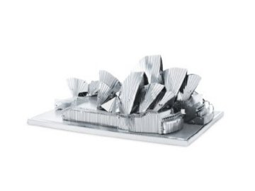 Kovové 3D puzzle - Opera v Sydney