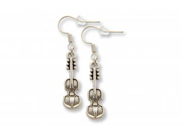 Náušnice housle