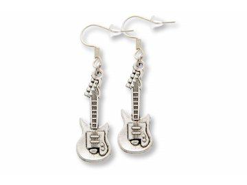 Náušnice elektrické kytary
