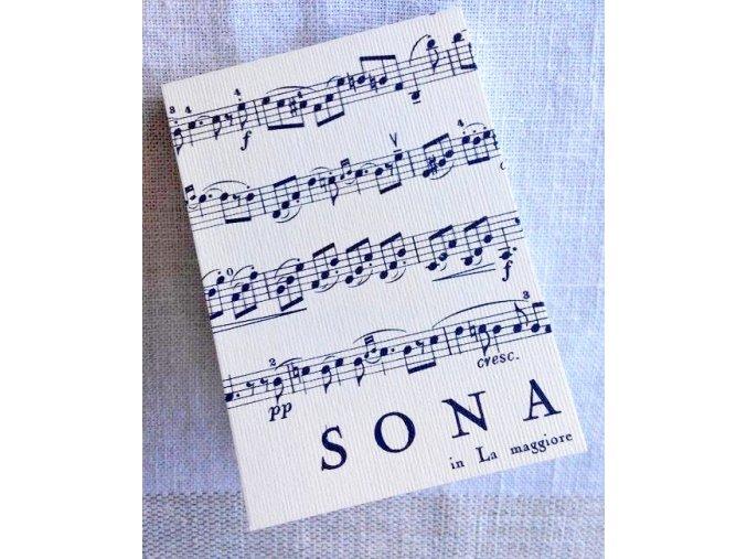 Blok trhací SONATA - mini