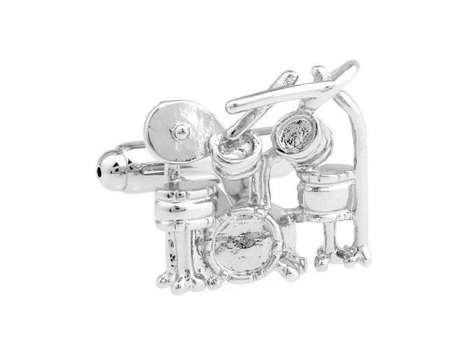 manžetové knoflíčky bicí