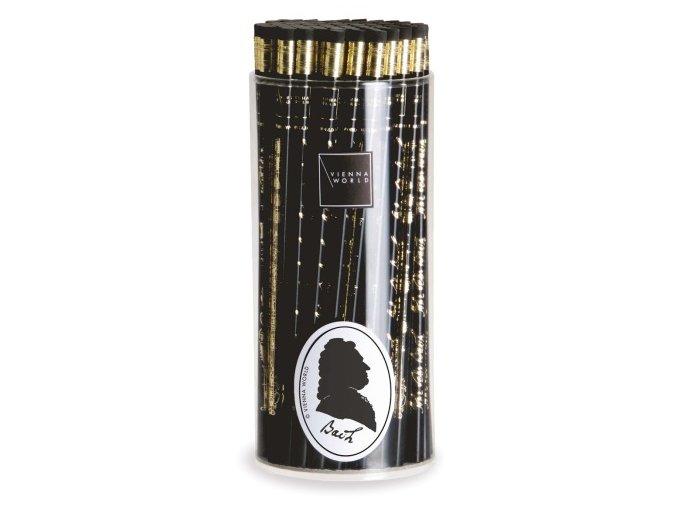Tužka dřevěná BACH černá