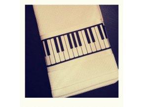 Ručník s klaviaturou