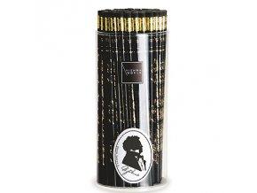 Dřevěná tužka Schubert černá