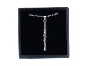 náhrdelník klarinet